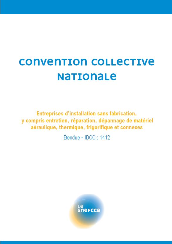 Convention Collective Nationale – IDCC 1412